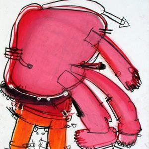 Mattia Moreni - Mutante su sgabello...